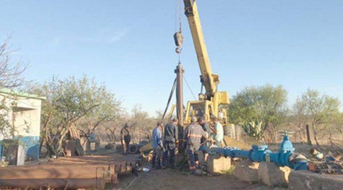 Falla en pozo limita servicio de agua en Santa Bárbara (El Sol de Parral)