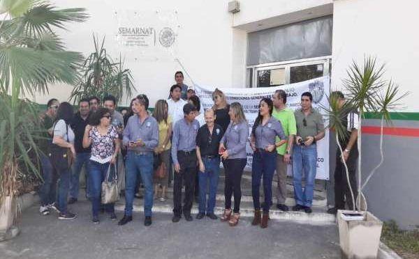 Trabajadores de la Semarnat anuncian paro nacional; exigen mejores condiciones laborales (El Heraldo)