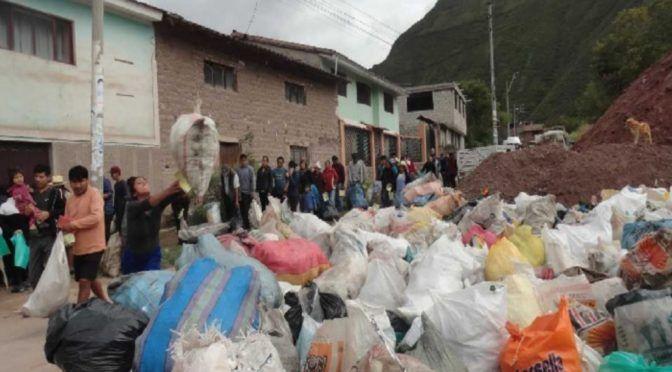 Cusco: retiran más de 14 toneladas de basura de riberas de río Vilcanota (Andina)