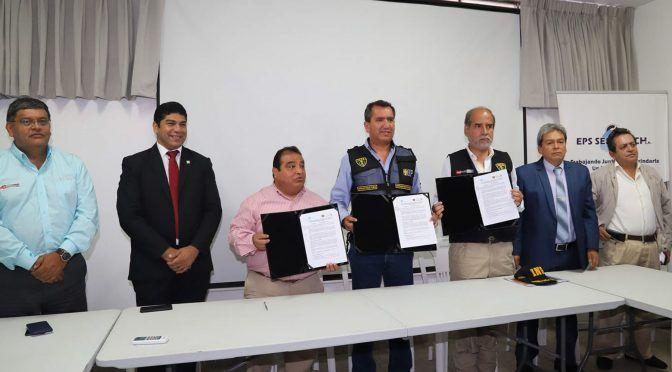 Obra de agua potable favorecerá a 1,500 presos del penal de Chincha (Andina)