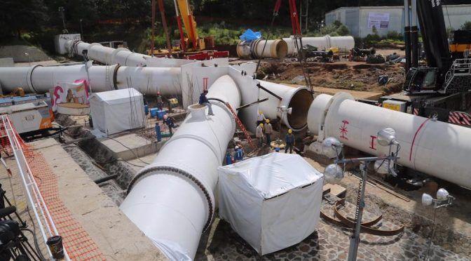 CDMX: Mal diseño de la K invertida impidió su instalación: Conagua (La jornada)