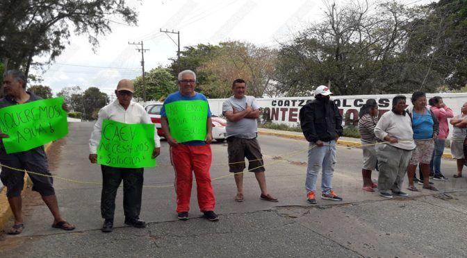 Veracruz: Protestan por falta de agua en Coatza (Presencia)