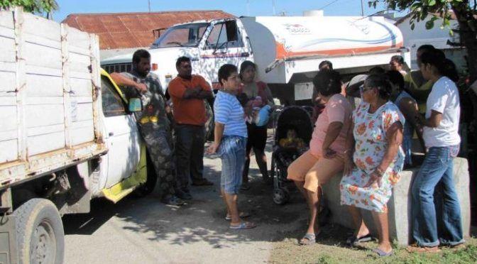 Tabasco: Sufren por agua miles en Centla (Tabasco HOY)