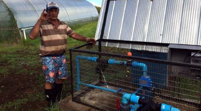 Agricultores de Rapa Nui cuentan con moderno sistema de riego (LogIn)