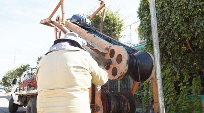 El Oomapasc limpia las líneas de drenaje para evitar colapsos (Tribuna)