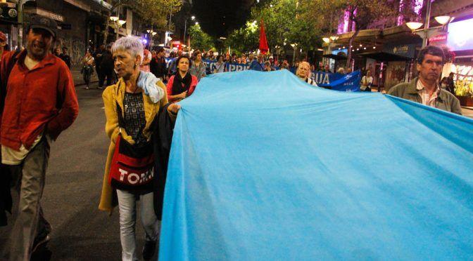 Dos detenidos tras operativo policial durante la marcha por el día del agua (Montevideo Portal)