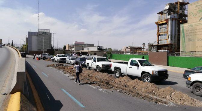 Durango: Sideapa corta agua y drenaje a oficinas de CFE (Milenio)
