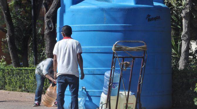 CNDH considera preocupante la falta de acceso al agua (La jornada)