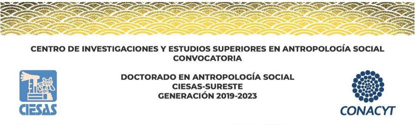 Aguas y fronteras: Convocatoria Doctorado en Antropología Social CIESAS Sureste