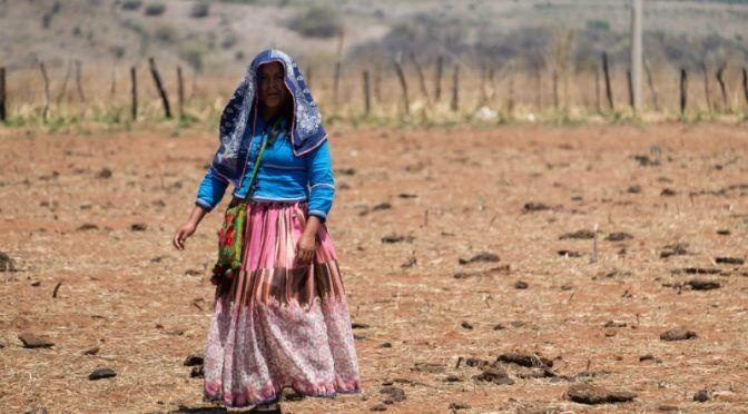 in agua y en pobreza extrema comunidad de Zumpahuacán (24 horas)