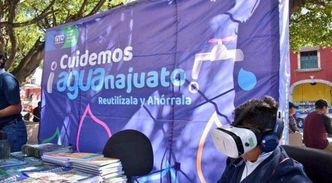 Guanajuato: CEAG participa en Feria del Agua en Juventino Rosas; busca promover uso responsable del agua (Zona Franca)