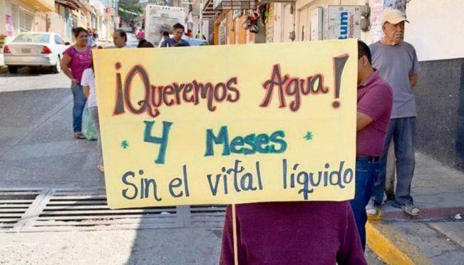 Guerrero: escala carencia de agua en Chilpancingo (El Universal)