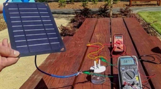 California: Obtienen combustible de hidrógeno a partir de agua de mar (Notimex)