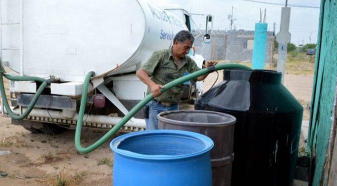 Gestiona Rubén Muñoz recursos para comprar seis pipas (El Sud Californiano)