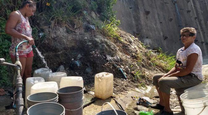 En el oeste de Caracas hay sectores donde el agua nunca llega (y II) (Crónica Uno)