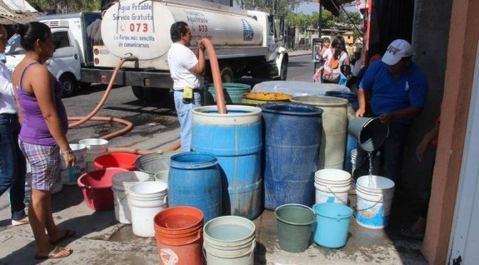 Cuernavaca: Pérdidas de millones de pesos en sistemas de agua (El Sol de Cuernavaca)