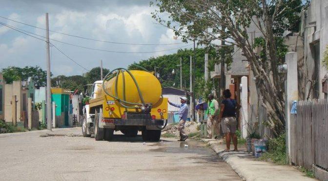 Sequía ya afecta abasto de agua en casas de Altamira ( El Sol de Tampico)