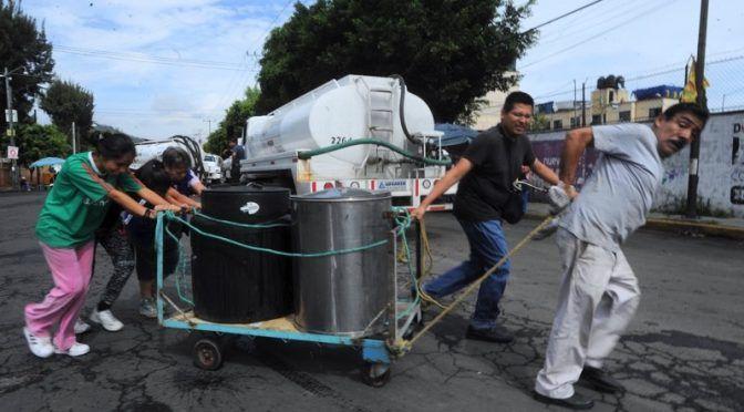 CDMX: Agua: uso y abuso político (24 horas)