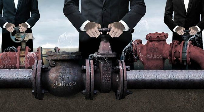 Acaparadores del agua ( Reporte Indigo)