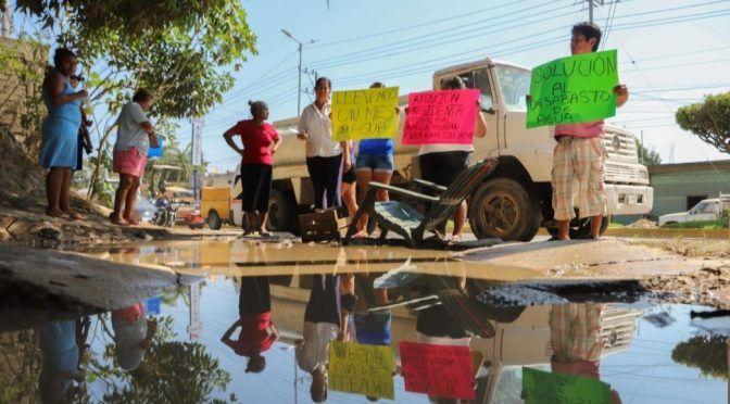 Gerrero: De nuevo se quedan sin agua potable en Acapulco por millonario adeudo (noticieros televisa)