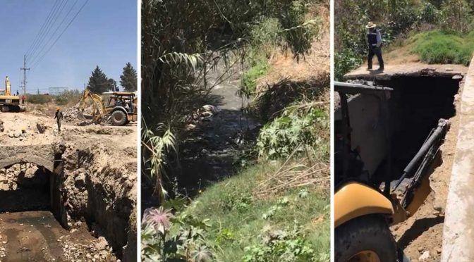 Agua de Puebla construirá y rehabilitará colector La Carmelita del Atoyac (Puntual)