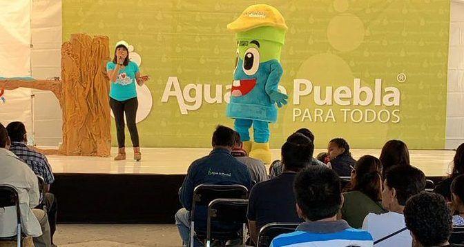 """Llega al zócalo de Puebla la """"Caravana del agua"""" (Tribuna Noticias)"""