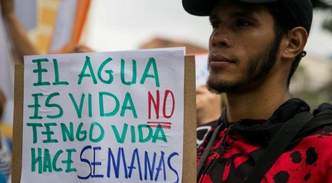 Venezuela: Caracas amanece sin una gota de agua  (Noticias Venezuela)