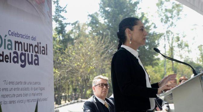 Sheinbaum anuncia programa para reparar fugas de agua en CdMx (Milenio)