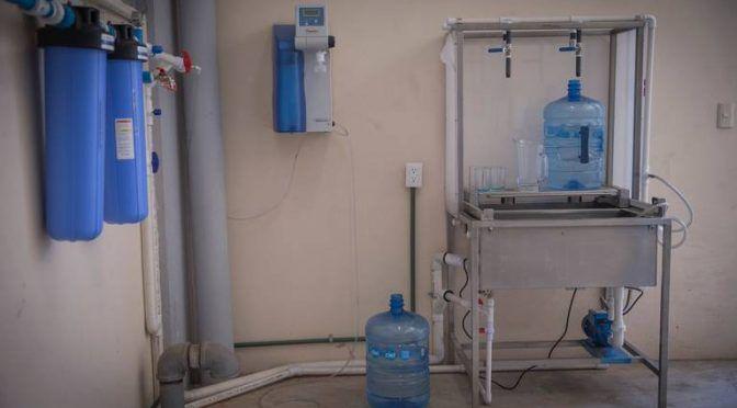 Cuenta UAEM con sistema que permite aprovechar 80% de agua de lluvia (El Sol de Toluca)