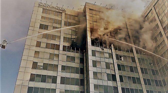 CDMX: Conagua busca reubicación de 2,300 trabajadores tras incendio (noticieros televisa)