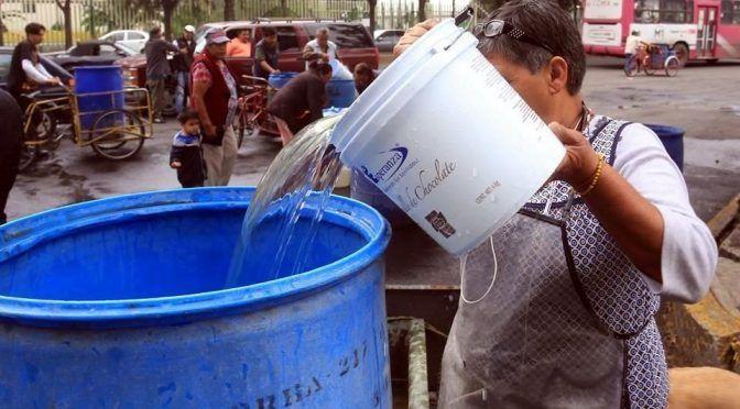 CDMX: Limita corrupción el acceso al agua (mnia)