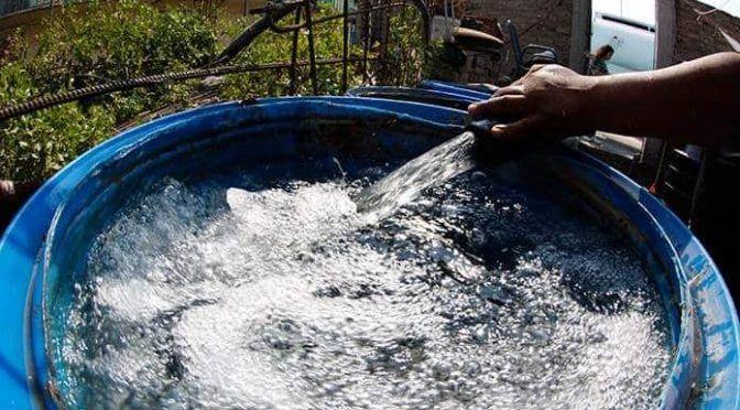 """Proponen """"escuadrón"""" de funcionarios para supervisar reparto de agua en  (20 minutos)"""
