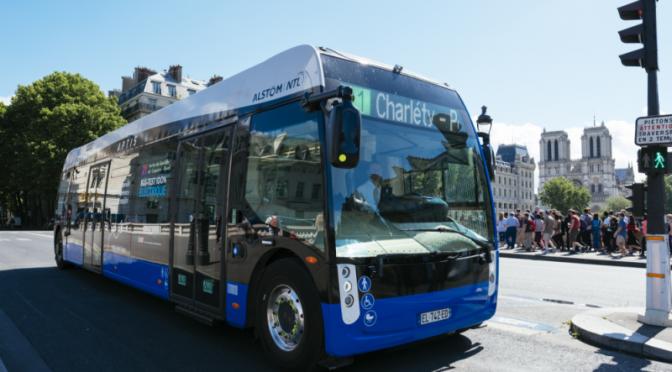 Alstom presenta su vehículo 'ecofriendly' a base de hidrógeno (Manufactura)