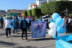 Zacatecas: Desfilan en Jalpa por el Cuidado del Agua (Pulso del Sur)