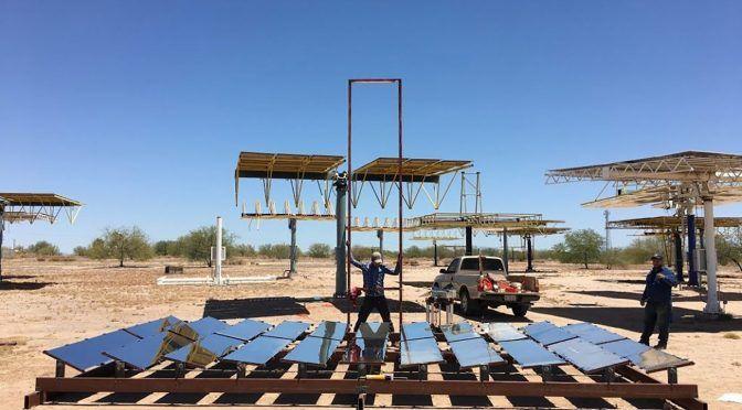 Crean científicos de México y EU tecnología que utiliza energía solar que desaliniza agua en zonas áridas (Web Adictos)