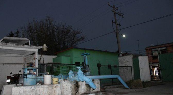 Por deuda municipal con CFE, sin agua 60 mil en Ecatepec (Milenio)