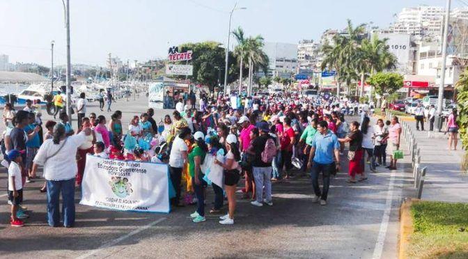 Acapulco: Desfilan escuelas por Día Mundial del Agua (El sol de Acapulco)