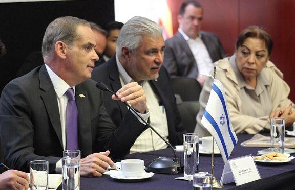 Embajador de Israel Ofrece Asistencia para el Desarrollo en Temas de Argo y Agua a Senadores MexicanosA SENADORES MEXICANOS (Enlace Judio)