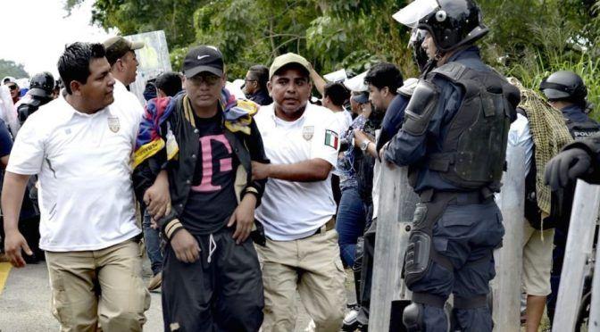 Chiapas: Se desborda estación migratoria (cencos)