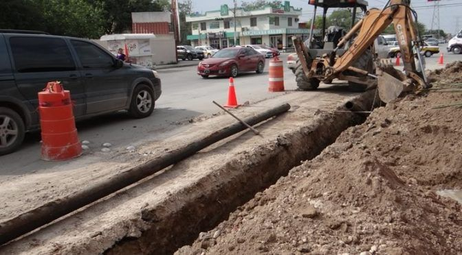 Rehabilitados 42 metros lineales de tubería de agua potable en la Narciso Mendoza. (Metro Noticias)