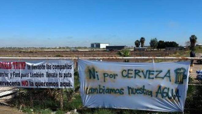 Baja California: Ofrece AMLO revisar el impacto por construcción de cervecera en Mexicali (La jornada)