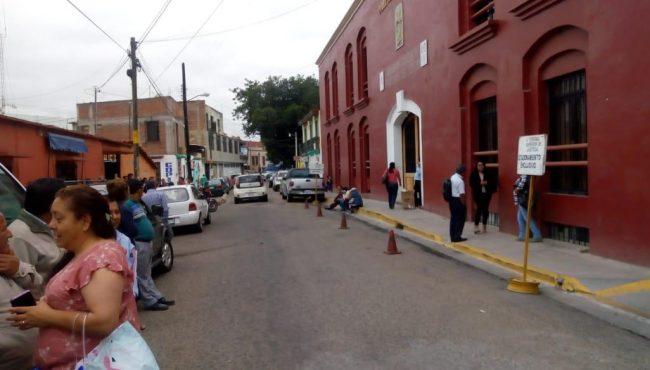 Oaxaca: Por falta de agua y mantenimiento de oficinas, plagas e inseguridad, paran labores trabajadores del Poder Judicial (NSS oaxaca)