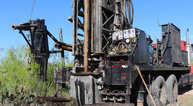 Coahuila: Arranca perforación de pozo de agua en Sabinas (Milenio)