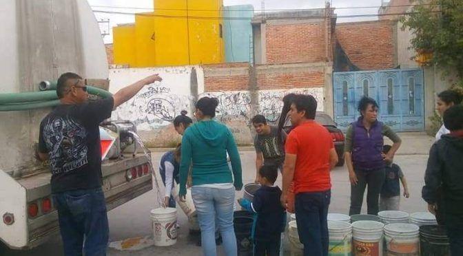 Al día 20 colonias sin agua en zona metropolitana ( El Sol de San Luis)