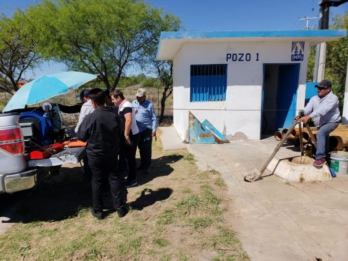 Zacatecas: Sin agua, por lo obsoleto del equipo del pozo 1 (Imagen)