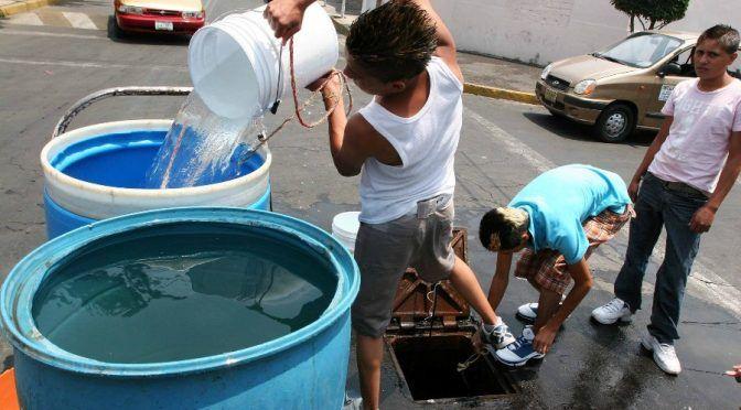 CDMX: Un decenio por el agua.. y sin agua (24 horas)