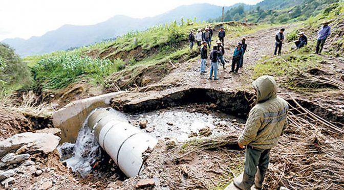 Realizan estudio para restauración de tuberías en Tehuacán (Milenio)