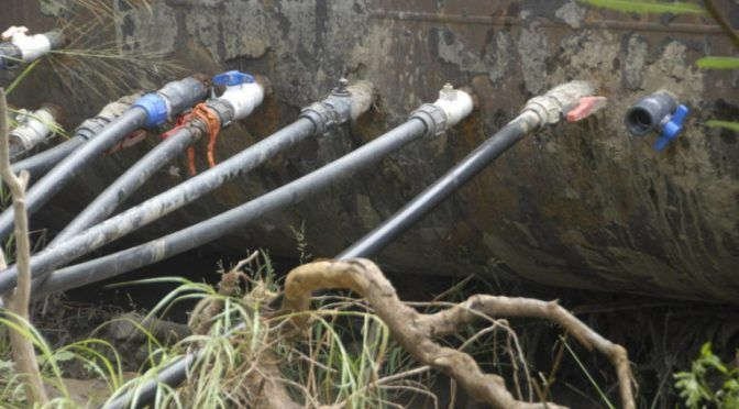 Coahuila: Pierden 50% del agua por tomas ilegales (zócalo)