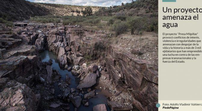 Ejidatarios de Zacatecas alertan que megaproyecto se llevará su agua para la cervecería Modelo (Sin Embargo)