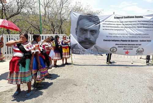 CDMX: Recuerdan a Zapata con protestas en seis estados (La Jornada)